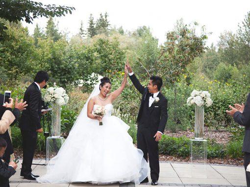 Classy Champaign Wedding
