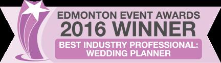 Best Wedding Planner Award Winner